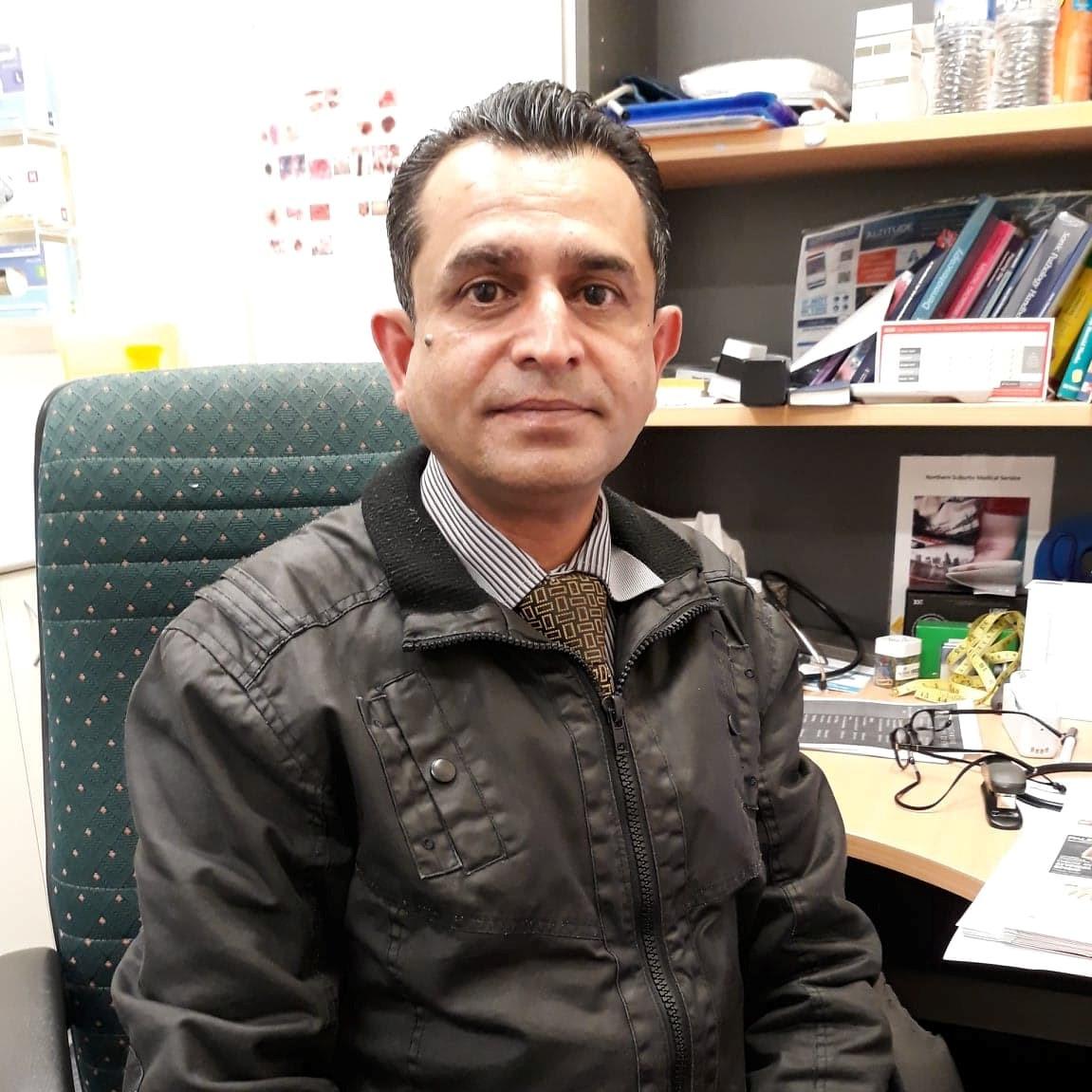 Dr Imran Aslam